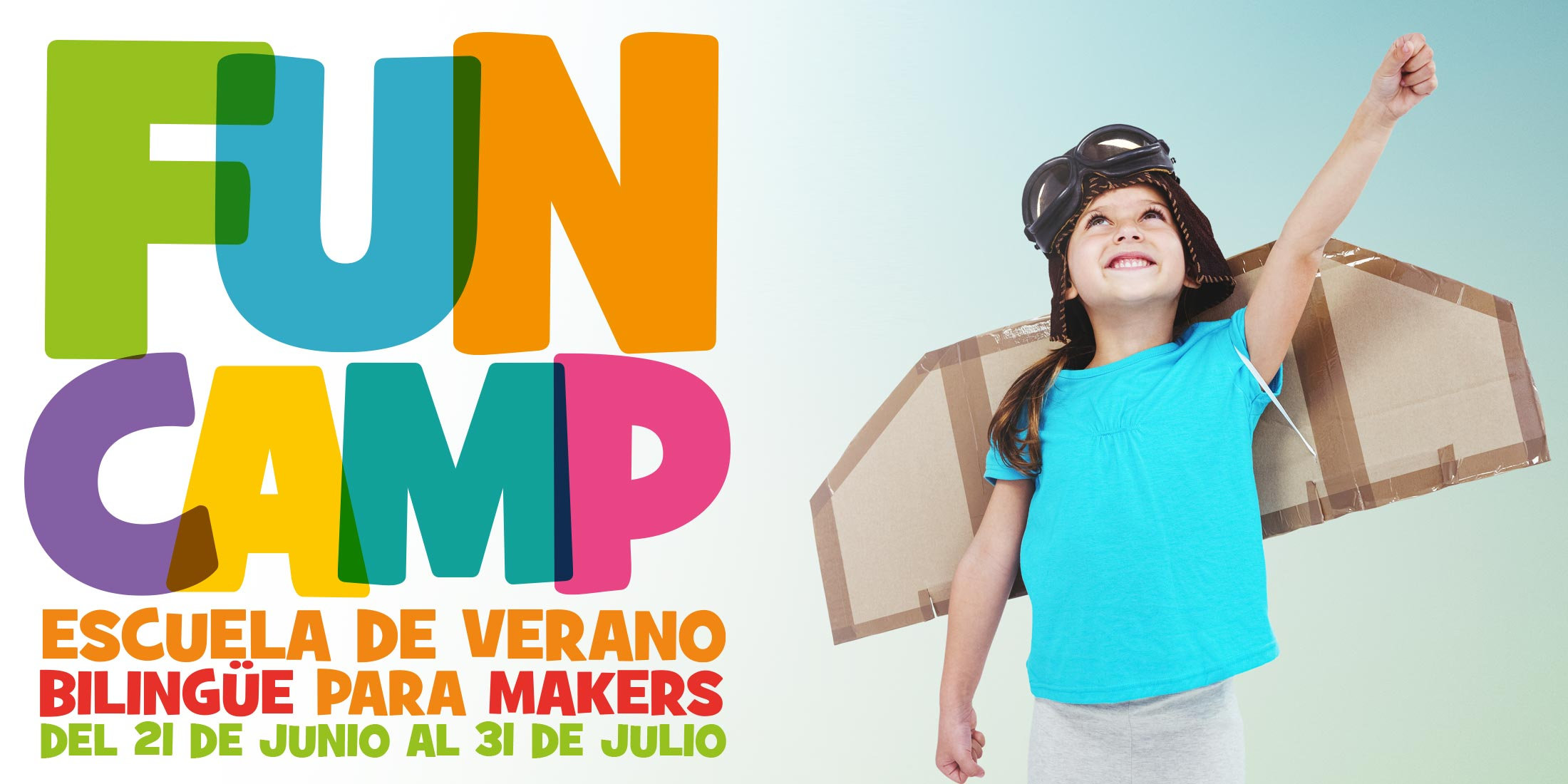 Funcamp Campamento de vernao bilingüe para Makers