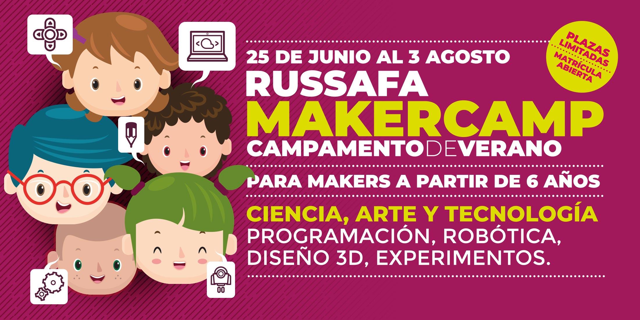 Makercamp de verano en nube7