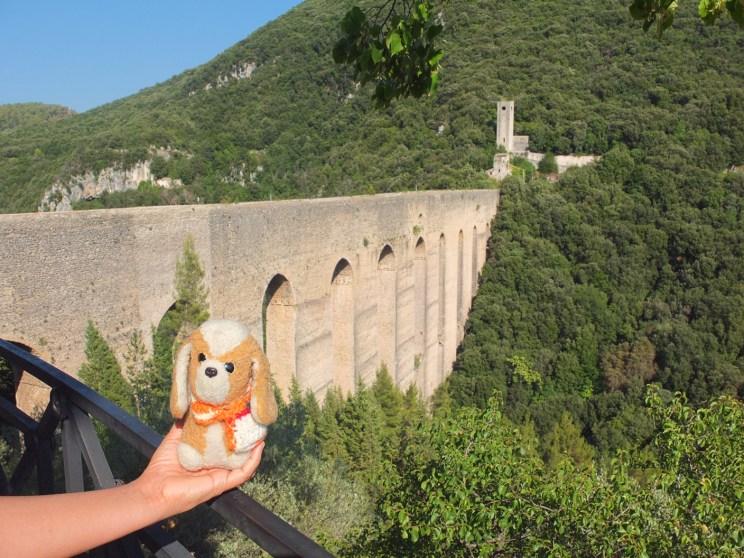 Ponte delle Torri en Spoleto - Umbria (Italia)