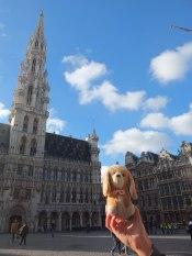 en La Grand Place- Bruselas (Bélgica)