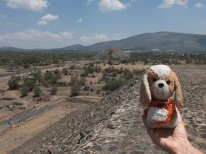 en Teotihuacán (México)