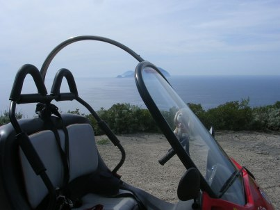Pollara- Saline. Isole Eolie (Italia)
