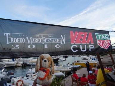 "Participando en la regata ""Trofeo Mario Formenton"" - Porto Rafael - Palau - Cerdeña (Italia)"