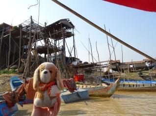 en el Lago Tonle Sap-Camboya