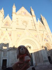 en la catedral de Orvieto - (Italia)