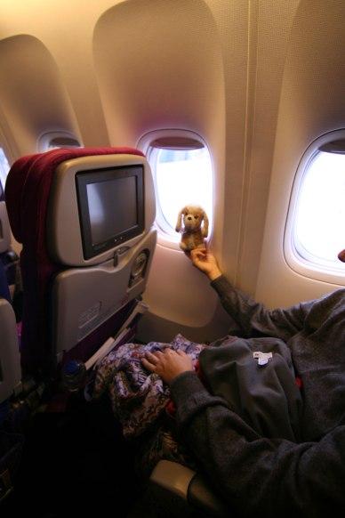volando con la Thai!