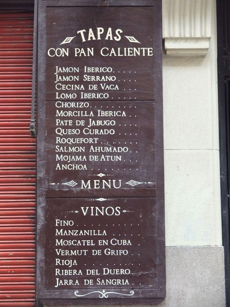 unas tapitas (Madrid)