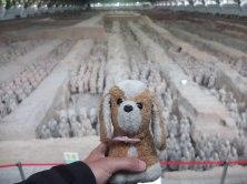 El guauguau de terracota - Xi'an (China)