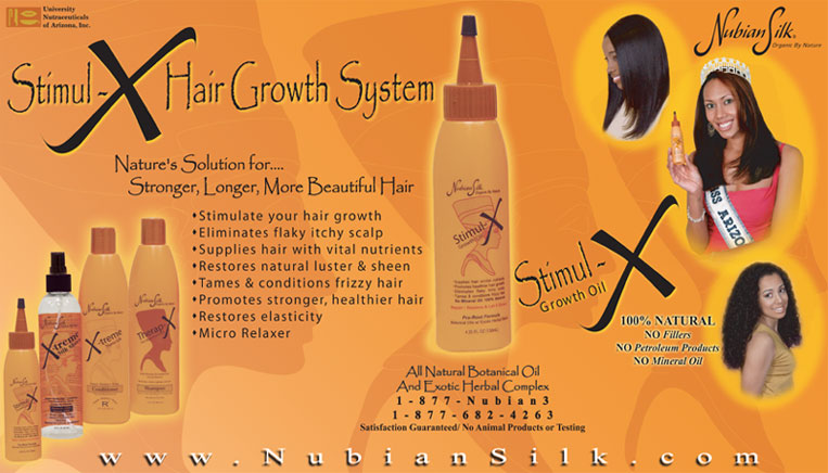 Black Hair Care Products Nubian Silk Black Hair Care Product