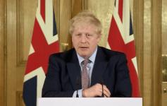 Boris Johnson speaking