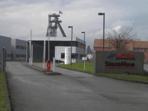 Abbildung 2: Betriebsanlagen der Deponie für Industrieabfälle StocaMine im Elsass.