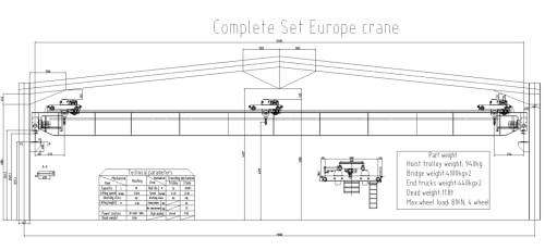 small resolution of double hoist crane