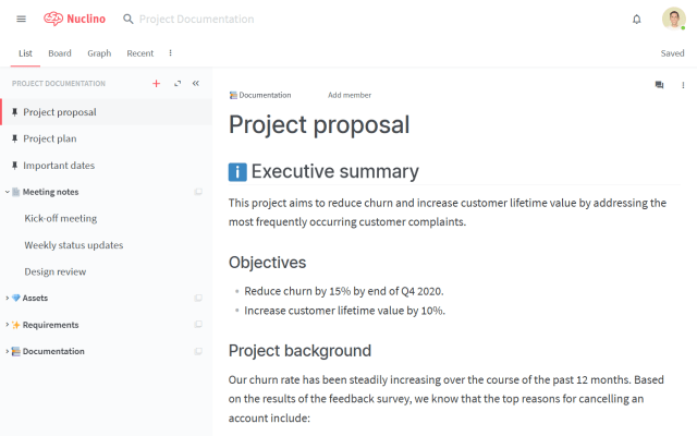 Project Documentation: Examples and Templates