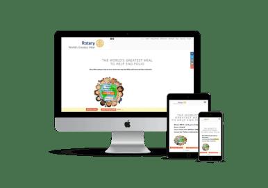 Responsive web WGMeal.com by NUCONET.com