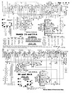Free Philco Cathedral Radio Schematic Service Manual