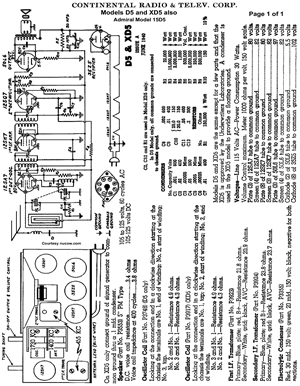 Zenith Radio Schematic Diagrams, Zenith, Free Engine Image