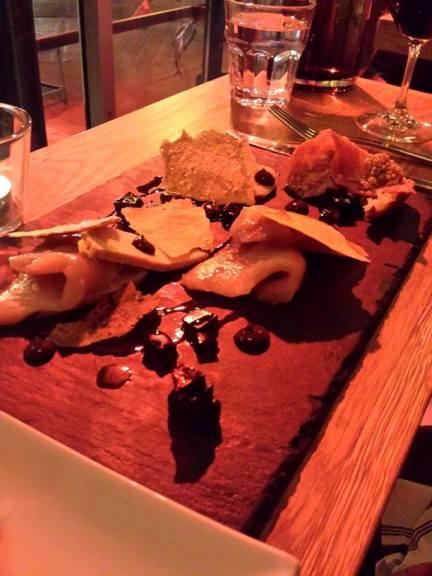 Thon et foie gras