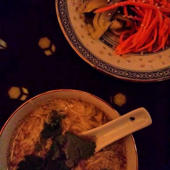 Soupe à la fleur d'oeuf - Marinades
