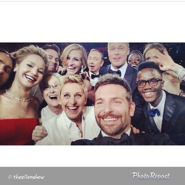 Oscars Celebrities Famous Social Media