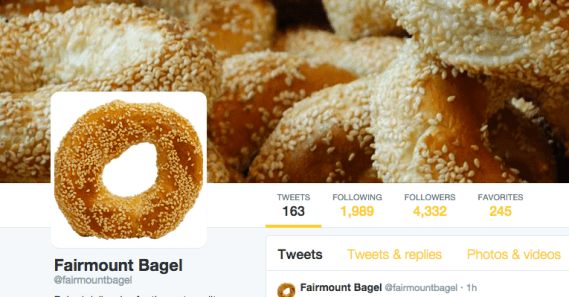 Fairmount Bagel Montreal Yellow Baked Food Carbs Mile End Shade