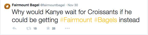 Fairmount Bagels Montreal Twitter