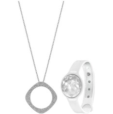 Tech Swarovski Bling Silver Jewelry Fashion