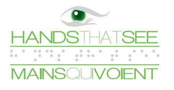 Hands Eye Green Logo Montreal