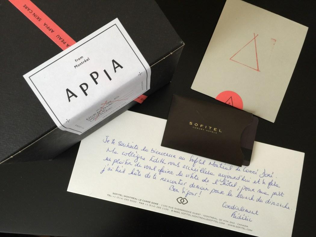 Appia Spa Nomad Montreal Sofitel Hotel