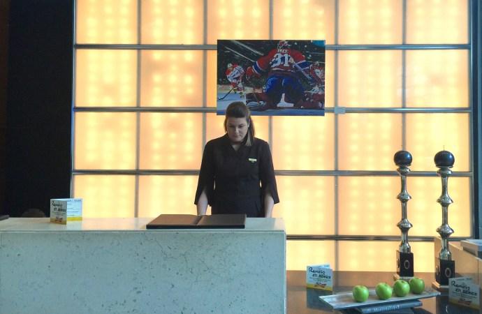 Sofitel Hotel Montreal Front Desk