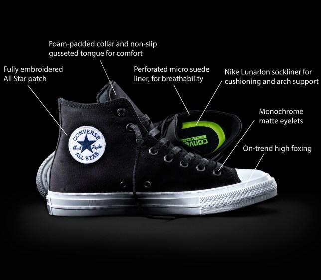 Converse Chuck II Nike