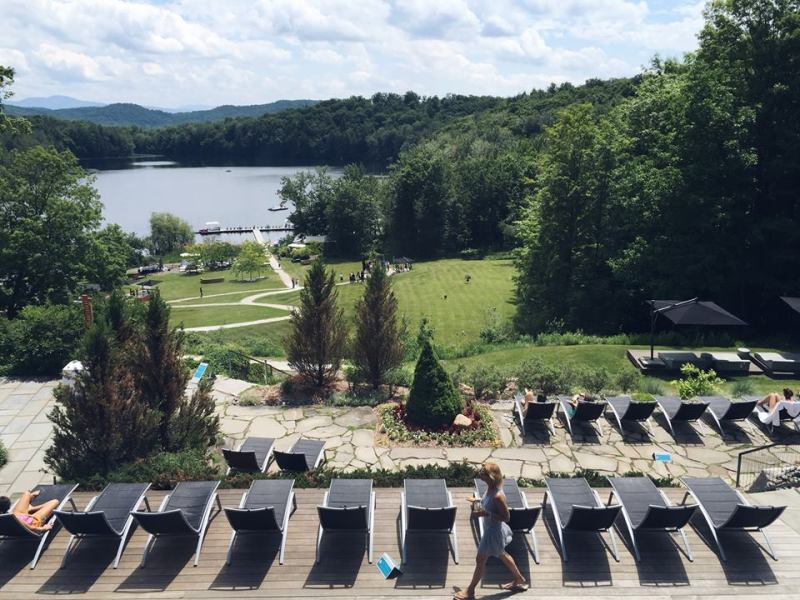 Spa Balnea Media Event Water Lake Eastern Townships