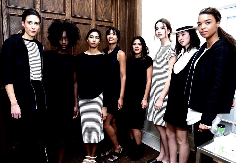 Ethical Fashion Montreal Hutchison Ogilvy Style Black and white women models
