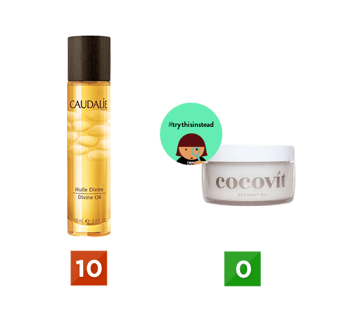 Caudalie Think Dirty App Toxicity Cosmetics Review Blog Montreal