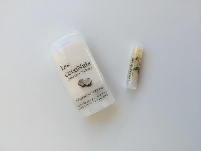 Expo Manger Sante Coconut Les CocoNuts Deodorant Natural Bio Organic