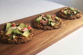 Gluten-Free Vegan Pizza Montreal at home chef vegetarian recipe