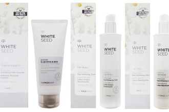 White Seed THEFACESHOP brightening serum Korean Skincare
