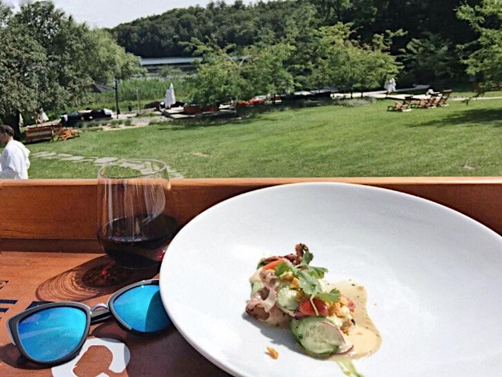 Ete des Chefs Spa Balnea 2017 Miel Restaurant Pointe Saint Charles