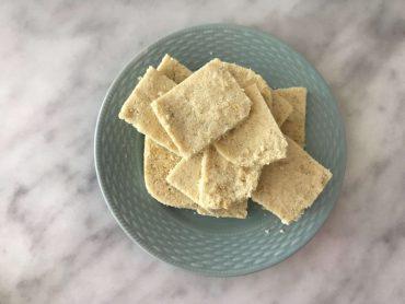 Vanilla collagen bars keto