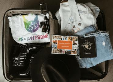 Nudabite Travel Aeroplan Reward Miles Vacation Minimalist Packing