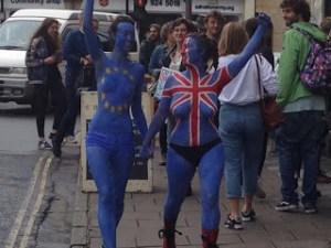 Brexit e nudismo