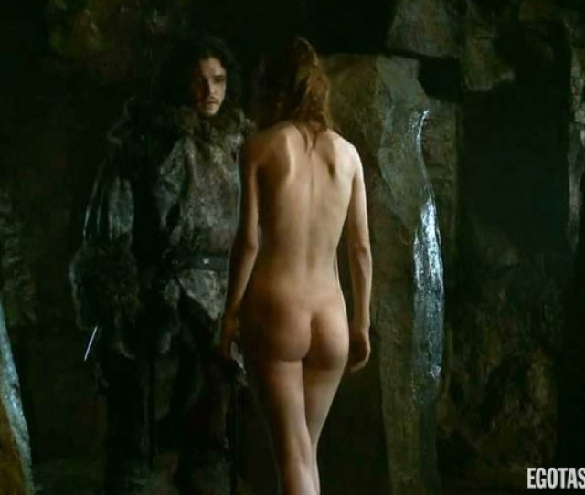 Rose Leslie Fully Naked Ass Booty Butt In Game Of Thrones