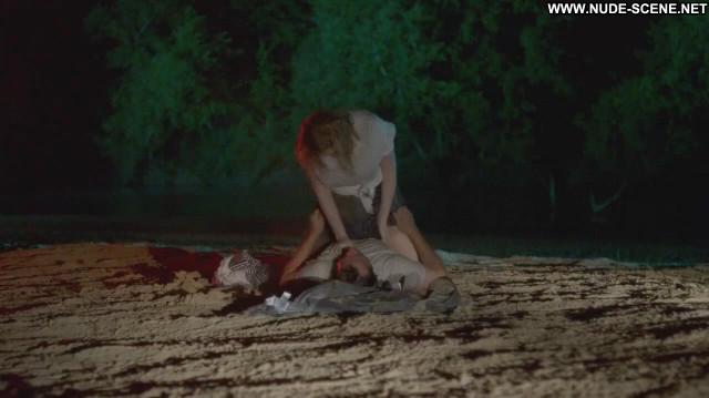 Christina Hendricks Hap And Leonard Breasts Shirt Celebrity Car Wet
