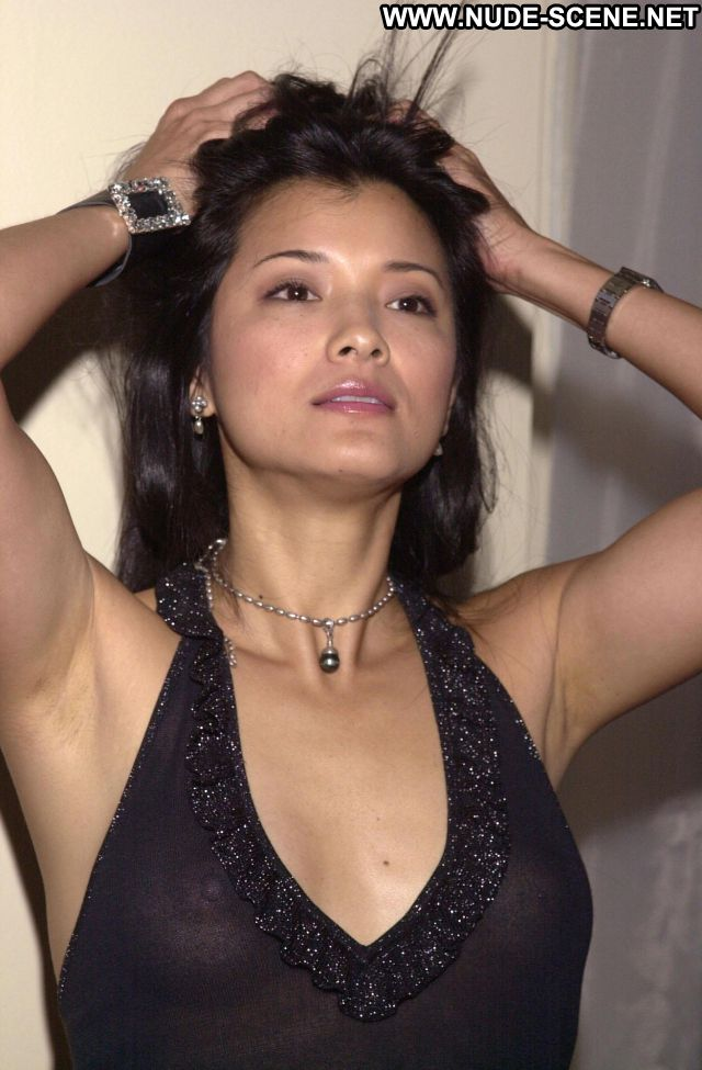 Kelly Hu Asian See Through Tits Nude Scene Showing Tits Nude