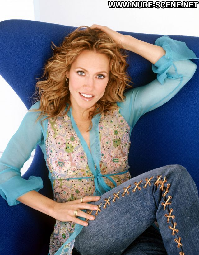 Sheryl Crow Blonde Milf Hot Celebrity Posing Hot Blue Eyes Singer