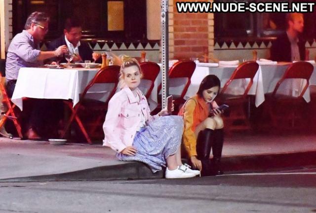Elle Fanning No Source Beautiful Babe Posing Hot Paparazzi Celebrity