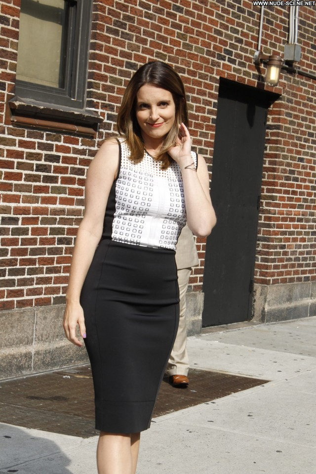 Tina Fey The Late Show With David Letterman High Resolution Beautiful