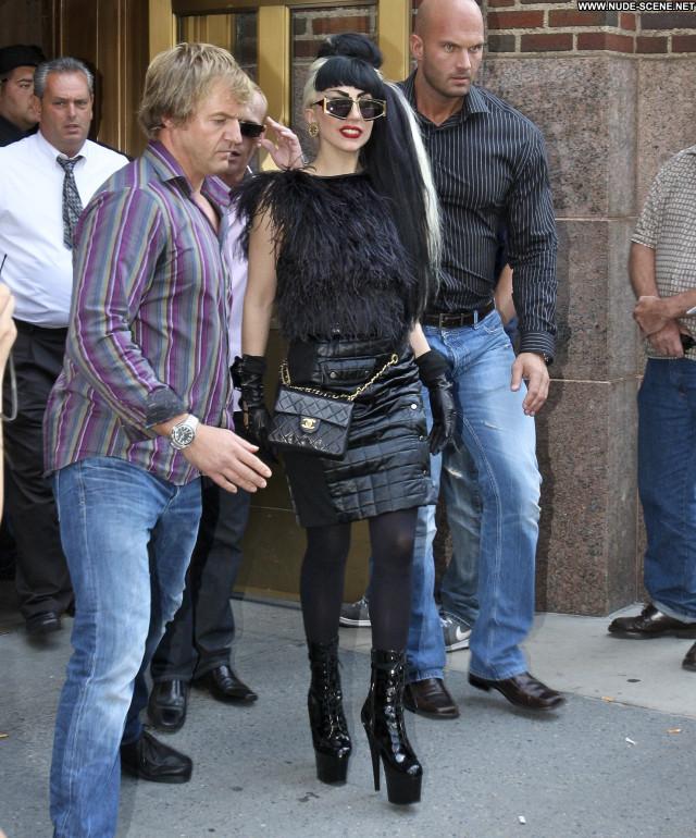 Lady Gaga New York High Resolution Babe Posing Hot Beautiful New York