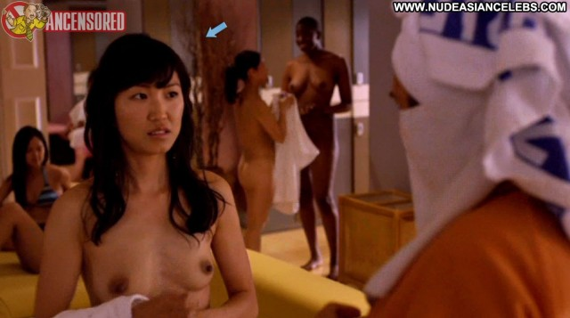 Natalie Kim Bored To Death Sultry Small Tits Celebrity Hot Asian