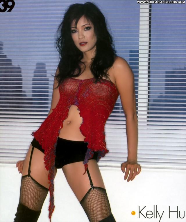 Kelly Hu Miscellaneous Asian Gorgeous Nice Sexy Brunette Medium Tits