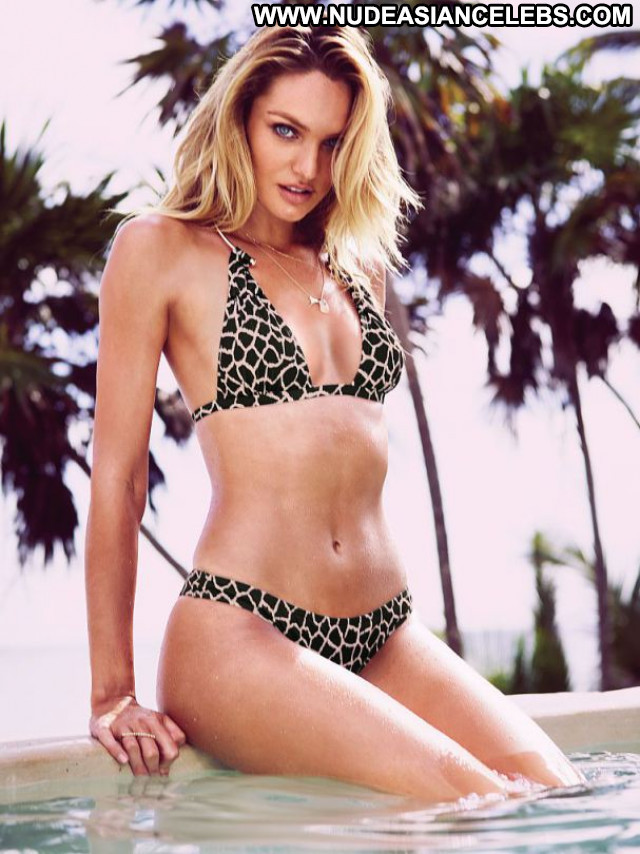 Candice Swanepoel Posing Hot Bikini Lingerie Babe Beautiful Celebrity